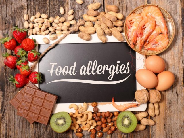 Types and symptoms of food Allergies
